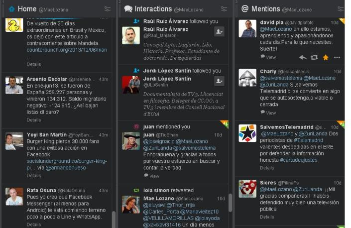 captura tweetdeck